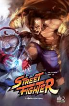 Visuel Street Fighter en comics