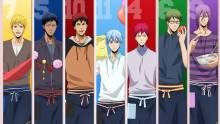 Wallpaper/fond d'écran Kuroko's basket Last Game / Gekijōban Kuroko no Basuke Last Game (劇場版 黒子のバスケ LAST GAME) (Films d'animation)
