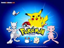 Wallpaper/fond d'écran Pokémon 1: Mewtwo contre Mew / Gekijôban Pocket Monster Mewtwo no gyakushû (Films d'animation)
