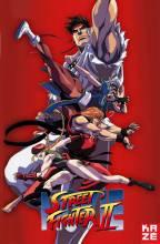 Visuel Street Fighter dans toute son ardeur