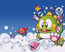 Wallpaper/fond d'écran Bubble Bobble / Bubble Bobble (バブルボブル) (Jeux vidéo)