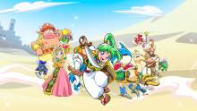 Wallpaper/fond d'écran Wonder Boy : Asha in Monster World / Wonder Boy – Asha in Monster World (ワンダーボーイ アーシャ・イン・モンスターワールド) (Jeux vidéo)