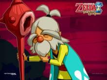 Wallpaper/fond d'écran Zelda (The Legend of) : Phantom Hourglass /  (Jeux vidéo)