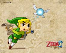 Wallpaper/fond d'écran Zelda (The Legend of) : Phantom Hourglass /  (Jeux vidéo)