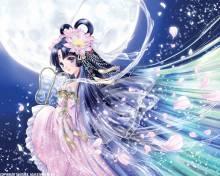 Wallpaper/fond d'écran Kaguya, princesse au clair de lune /  (Livres d'art)