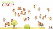 Wallpaper/fond d'écran Que fais-tu, Sissi ? / Xi Xi (西西) (Livres d'art)