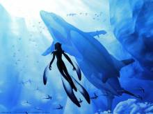 Wallpaper/fond d'écran Blue Submarine No.6 / Ao No Roku Go (青の6号) (OAV)