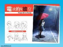Wallpaper/fond d'écran Denpa teki na Kanojo / Denpa teki na Kanojo (電波的な彼女) (OAV)