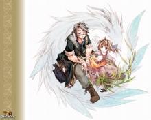 Wallpaper/fond d'écran Créatures fantastiques / Watashi to Sensei no Genjuu Shinryouroku (わたしと先生の幻獣診療録) (Seinen)