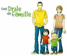 Wallpaper/fond d'écran Drôle de famille (Une) / Yoningurashi (よにんぐらし) Stories of four happy lives (Seinen)