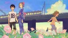 Wallpaper/fond d'écran Our summer Holiday / Kami-sama ga Uso o Tsuku. (神様がうそをつく。) (Seinen)