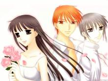 Wallpaper/fond d'écran Fruits Basket / Fruits Basket (Shōjo)