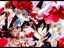 Wallpaper/fond d'écran Kiss of Rose Princess / Barajou no Kiss (Shōjo)