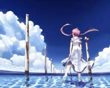 Wallpaper/fond d'écran Aqua / Aqua (Shōnen)