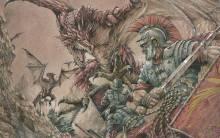 Wallpaper/fond d'écran Bestiarius / Toujuushi (闘獣士 ベスティアリウス) (Shōnen)