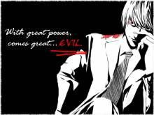 Wallpaper/fond d'écran Death Note / Death Note (Shōnen)