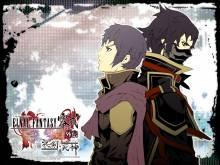Wallpaper/fond d'écran Final Fantasy Type-0: le Guerrier à l'Épée de Glace / Final Fantasy Reishiki Gaiden - Hyouken no Shinigami (ファイナルファンタジー零式外伝 氷剣の死神) (Shōnen)