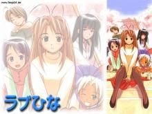 Wallpaper/fond d'écran Love Hina / Love Hina (Shōnen)