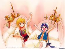 Wallpaper/fond d'écran Magi – The Labyrinth of Magic / マギ – The labyrinth of magic (Shōnen)