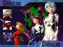 Wallpaper/fond d'écran Neon Genesis Evangelion / Shinseiki Evangelion (新世紀エヴァンゲリオン) (Shōnen)