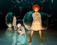 Wallpaper/fond d'écran Promised Neverland (The) / Yakusoku no Neverland (約束のネバーランド) - The Promised Neverland (Shōnen)