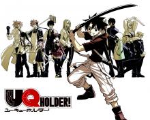 Wallpaper/fond d'écran UQ Holder ! /  (Shōnen)