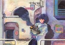 Wallpaper/fond d'écran Video girl Aï / Denei Shôjô Ai (Shōnen)