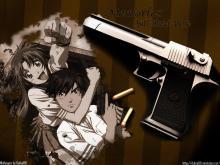 Wallpaper/fond d'écran Full Metal Panic / Full Metal Panic (Animes)