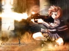 Wallpaper/fond d'écran Gunslinger Girl / Gunslinger Girl (Animes)