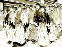 Wallpaper/fond d'écran Getsumei Seiki sayonara Shinsengumi / Getsumei Seiki sayonara Shinsengumi (Seinen)