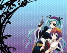 Wallpaper/fond d'écran Venus Versus Virus / Venus Versus Virus (Animes)