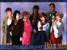 Wallpaper/fond d'écran Blue Seed / Blue Seed (Animes)