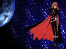 Wallpaper/fond d'écran Albator 78 - Le corsaire de l'espace / Uchu Kaizoku Captain Harlock (Animes)