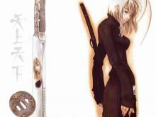 Wallpaper/fond d'écran Enfer et Paradis / Tenjo Tenge (Shōnen)