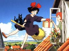 Wallpaper/fond d'écran Kiki la petite sorcière / Majo no takkyubin (Films d'animation)