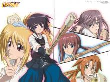 Wallpaper/fond d'écran Bamboo Blade / Bamboo Blade (Animes)