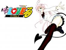 Wallpaper/fond d'écran To Love -trouble- / To Love-Ru (Shōnen)