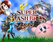 Wallpaper/fond d'écran Super Smash Bros. Brawl /  (Jeux vidéo)