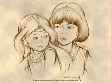 Wallpaper/fond d'écran Yoko Tsuno / Yoko Tsuno (Émules)
