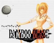 Wallpaper/fond d'écran Bamboo Blade / Bamboo Blade (Seinen)