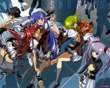 Wallpaper/fond d'écran Shuffle ! / Shuffle ! (Animes)