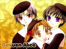 Wallpaper/fond d'écran Alice Academy / Gakuen Alice (Animes)