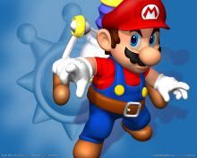 Wallpaper/fond d'écran Super Mario Sunshine /  (Jeux vidéo)