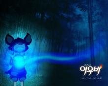 Wallpaper/fond d'écran Yobi, le renard à cinq queues / Chonnyonyeouu Yeouubi (Films d'animation)