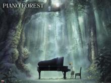 Wallpaper/fond d'écran Piano Forest / Piano no Mori (Films d'animation)