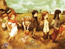 Wallpaper/fond d'écran Ailes grises - Haibane Renmei / Haibane Renmei (Animes)