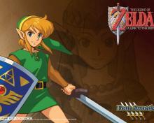 Wallpaper/fond d'écran Zelda (The Legend of) : A link to the past /  (Jeux vidéo)