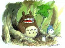 Wallpaper/fond d'écran Mon voisin Totoro / Tonari no Totoro (Films d'animation)