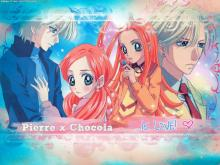Wallpaper/fond d'écran Chocola et Vanilla / Sugar Sugar Rune (Animes)