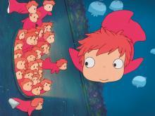 Wallpaper/fond d'écran Ponyo sur la Falaise / Gake no Ue no Ponyo (Films d'animation)